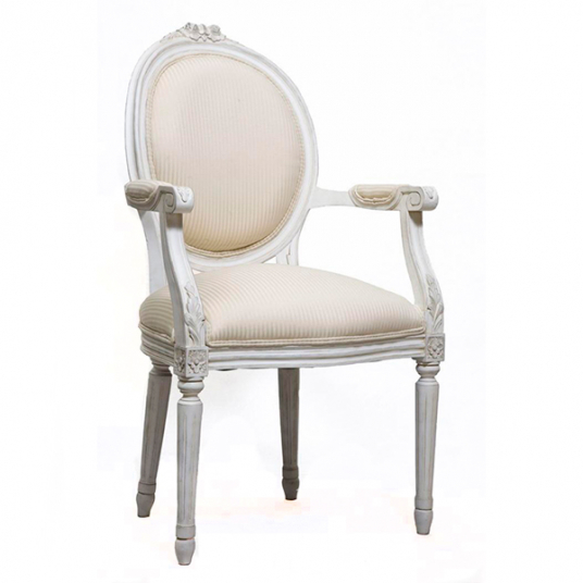 French Oval Armchair Birkdale Designs